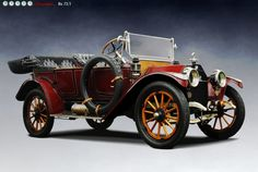 Buick Model B-25 Touring Car, 1913