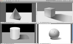 How to Apply Light, Shading, and Shadow to Round Objects (video tutorial)