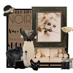 ART DECO bard by by chelseagirlfashion on Polyvore