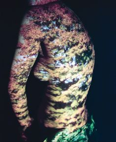 Light Projection Body Art - My Modern Metropolis