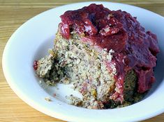 Healthy Green Kitchen Gluten Free Steamed Pudding with Maple Rhubarb Sauce » Healthy Green Kitchen