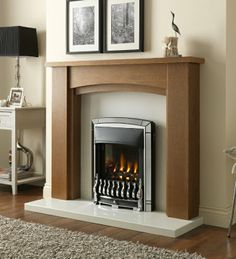 Homeflame Dream Slimline High Efficiency Gas Fire, From Valor Living Spaces, Living Room, Gas And Electric, Gas Fires, Traditional Design, Chrome, Home Decor, Slim, Amp