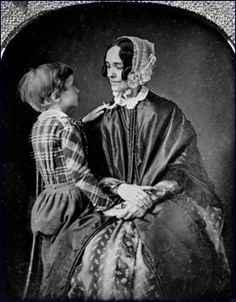 First Lady Jane Pierce, wife of President Franklin Pierce, is shown here with her last surviving son, Benjamin Pierce. The child died in 1853 in a train crash, two months before his father was sworn into office as President. Presidents Wives, American Presidents, American History, Mexican American, American War, First Lady Of America, Us First Lady, Franklin Pierce, American First Ladies