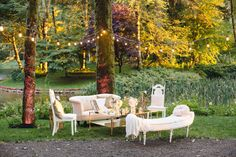These picture-perfect backdrop ideas will wow your guests and keep the fun going during the wedding reception. Wedding Lounge, Garden Party Wedding, Wedding Reception, Wedding Venues, Outdoor Furniture Sets, Outdoor Decor, Outdoor Lounge, Wedding Trends, Wedding Ideas