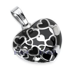 PIN IT TO WIN IT! Heart Beat: This vivid work-of-art is crafted beautifully with the right proportions. Lose yourself in the love and spread the love to all around you with the Heart Beat pendant.     $39.99   www.buybluesteel.com