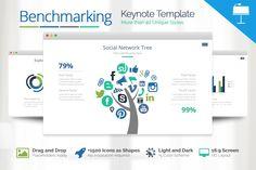 Benchmarking Keynote Template by Louis Twelve on Creative Market