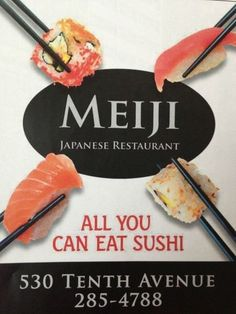 Meiji restaurant thunder bay ontario 530 tenth ave Thunder, Ontario, Sushi, Beautiful Places, Restaurant, Eat, Diner Restaurant, Restaurants, Dining