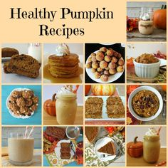 Healthy Pumpkin Recipes - Pumpkin season is here!!!  Check out all of my favorite pumpkin recipes that are completely guilt-free!  From donuts to smoothies.