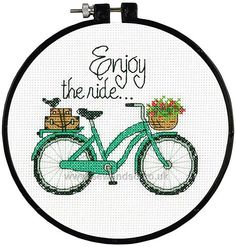 Shop online for Enjoy the Ride Cross Stitch Kit at sewandso.co.uk. Browse our great range of cross stitch and needlecraft products, in stock, with great prices and fast delivery.
