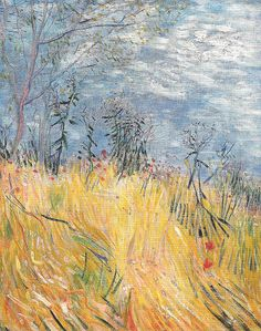 Vincent van Gogh - Edge of a Wheat Field with Poppies, 1887 (Private Collection) Van Gogh: Up Close at Philadelphia Museum of Art | Flickr -...