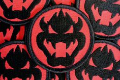 1 EndBoss patch velcro inspired by super nintendo by RKADELABS, $5.00