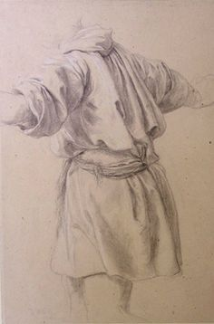 Leighton-Study of a Man in a Short Tunic