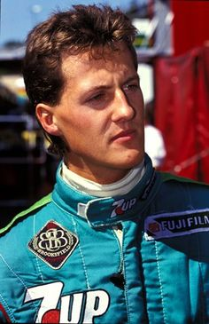 Michael Schumacher (GER) Jordan 191. Formula One World Championship. Belgian Grand Prix, Spa, Belgium. 25 August 1991.