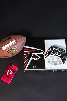 Atlanta Falcons Official National Football League Fan Shop Authentic Headrest Cover