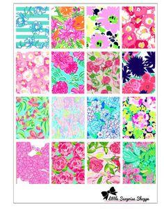 Erin Condren Floral Stickers by LittleSurpriseShoppe on Etsy