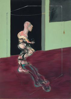 Francis Bacon Turning Figure, 1962 Oil on canvas 198 x 144,5 cm Private Collection © The Estate of Francis Bacon. All rights reserved, DACS 2016.