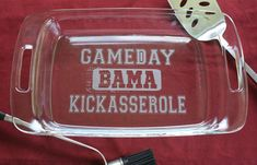 GAMEDAY KICKASSEROLE  - Alabama Football Fans - A  Tailgate must have ! on Etsy, $33.00 *Ok...sorry I may not be able to bring it to a church potluck, but I may just have to have this!*
