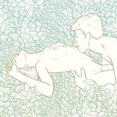 〰 Mostrar entusiasmo, pasión y creatividad, es la clave para demostrarle a tu hombre que lo deseas y que eres la diosa sexual que merece. 〰 #Repost @_komik_k_ ・・・ come to my garden  #LaSanta #eroteca #erotismo #érotique #arterotica #erotism #eroticcomic #love #sextips #consejossexuales #calico