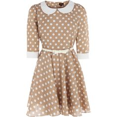OASIS 60s Spot Dress (520 MXN) ❤ liked on Polyvore featuring dresses, vestidos, vestiti, платья, zip up dress, oasis dress, polka dot dress, sleeve dress and polka dot sleeve dress
