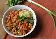 Nacho roasted chickpeas - Amuse Your Bouche