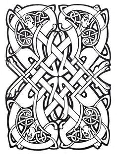 √ Celtic Coloring Pages . 7 Celtic Coloring Pages . Colouring Pages, Printable Coloring Pages, Coloring Pages For Kids, Coloring Books, Celtic Symbols, Celtic Art, Celtic Knots, Celtic Dragon, Celtic Tribal