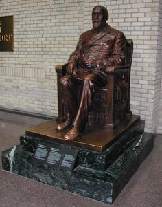 Bronze statue of Timothy Eaton was produced in 1919 to commemorate the anniversary of the original store that opened in Toronto in It now calls the Royal Ontario Museum home. It is the only item on display at the ROM that visitors are incur to touch. King City, Royal Ontario Museum, Toronto Canada, Canada Eh, Memorial Museum, Canadian History, Roadside Attractions, First World, Childhood Memories