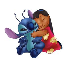 Free Disney's Lilo and Stitch Clipart and Disney Animated Gifs -... ❤ liked on Polyvore featuring disney, characters, cartoons, stitch and lilo and stitch