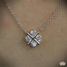 \'XO\' Diamond Pendant | 829
