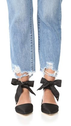Brandie Lace-Up Flat | sam edelman | style | flats | 10 Shoes To Wear If You HATE Sandals