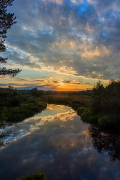Sunset Over The River Free Stock Photo - Public Domain Pictures Camping Places, Camping Spots, Go Camping, Outdoor Camping, Beach Camping, Over The River, Closer To Nature, Greatest Adventure, The Great Outdoors