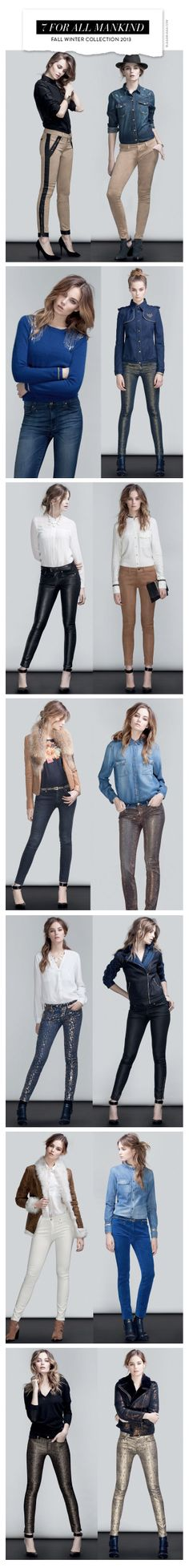 7 For All Mankind Fall Winter Collection 2013 view by Takotak.com