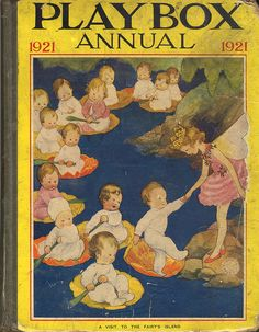 Playbox Annual 1921. Cover art by Susan Beatrice Pearse.
