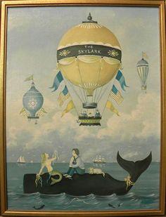 Ralph Cahoon chromolithograph titled Sailors Wedding