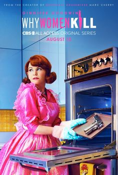 Why Women Kill Dark Comedy Debuts a Trailer and 3 Character Posters - Popular Netflix Movies,Series and Cartoons Suggestions Comedy Series, Comedy Tv, Comedy Show, Brian Grazer, Mode Pop, Devious Maids, Cbs All Access, Ginnifer Goodwin, Series Premiere