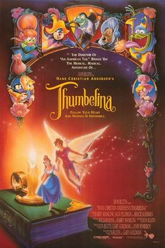 Hans Christian Andersen's Thumbelina Movie Poster