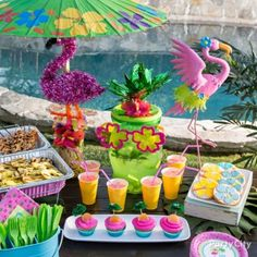 Fabulous Flamingos Summer Pool Party Ideas - Party City