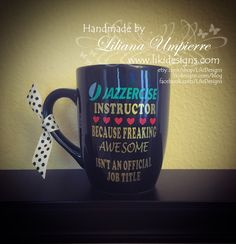 When you received the notification that one of your hot items is completely sold out 😍 Yep! Clicking the Renew button now. Jazzercise Instructor Coffee Cup #supportsmallbiz #supportsmallbusinesses #shoplocal #etsy #holidayseason #Christmas #cricut #craft #vinyl #preppy #jazzercise #jazzerciseinstructor #instructor #fitness #coffeecup #coffeelover #handmade #LikiDesigns