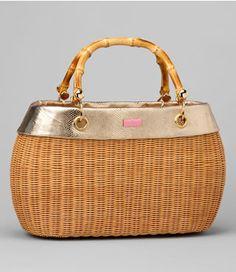 Lilly Pulitzer: Garden Party Basket $198