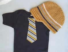 Get the Set and Save  Beanie and Baby Boy Tie by WeChooseJoy, $34.00