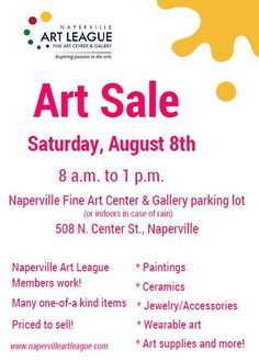 Naperville Art League Event