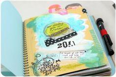 Gorgeous smash book/journal