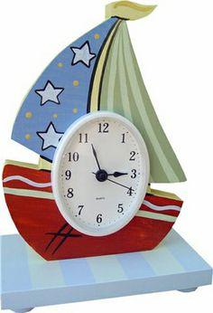 Boat Table Clock