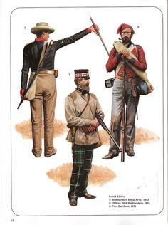 British Army Uniform, British Uniforms, British Soldier, Military Diorama, Military Art, Military History, Military Uniforms, Highlands Warrior, Osprey Publishing