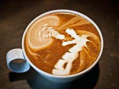 Latte art is the cherry on top of an incredible coffee drink. Here are some of our favorite latte art GIFs from some very talented baristas. Café Latte, Coffee Latte Art, I Love Coffee, Coffee Break, Best Coffee, My Coffee, Espresso Coffee, Morning Coffee, Drink Coffee