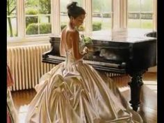 Chopin - Nocturne No. 20 in C# minor (transcribed for violin and piano by Nathan Milstein) ... set to the romantic figurative paintings of Robert Hefferan. - YouTube