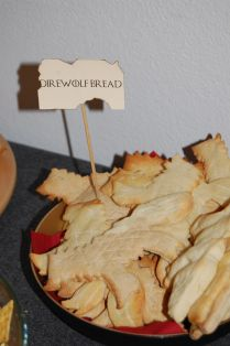 Dire Wolf Bread Game of Thrones Party Game Of Thrones Party, Dire Wolf, Camembert Cheese, Birthday Ideas, Bread, Food, Birthday, Meal, Essen