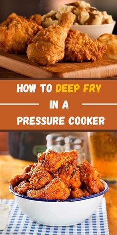 How to Deep Fry in a Pressure Cooker (2020)  Learn How to Deep Fry in a Pressure Cooker with all the tips, plus step by step recipes so you can get the best results for you and your loved ones!  #fry #deepfry #deepfrycooking #pressurecooker #pressurecookingrecipes #pressurecookertips