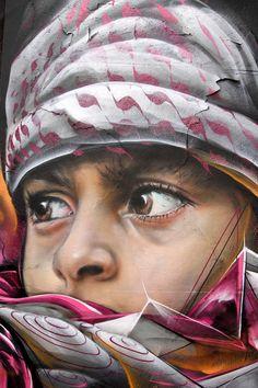 Street Artist: Adnate in Eindhoven . #adnate http://www.widewalls.ch/artist/adnate/