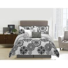 Shop for Willow Microfiber Floral 7-piece Comforter Set. Get free shipping at Overstock.com - Your Online Fashion Bedding Outlet Store! Get 5% in rewards with Club O!
