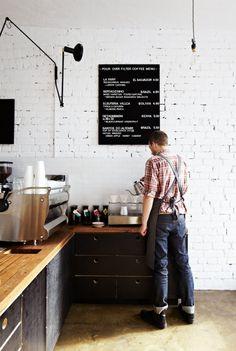 Claire Larritt-Evans - The Design Files Design Blog, The Design Files, Cafe Design, Interior Design, Design Ideas, Café Bar, Cafe Restaurant, Restaurant Design, Deco Tv